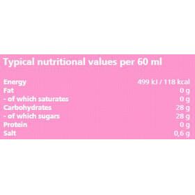 Dextro Energy Liquid Gel - Nutrición deportiva - Grapefruit with Natrium 60ml gris/naranja